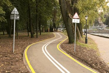 Как сделать велосипедная дорожка 313